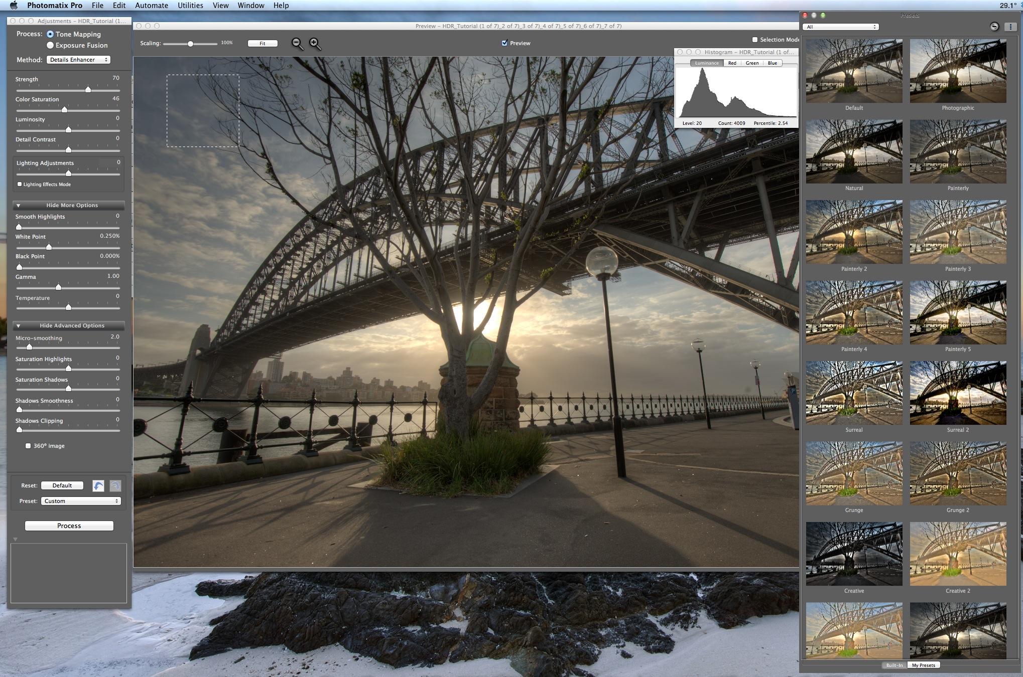 Photomatix Screenshot