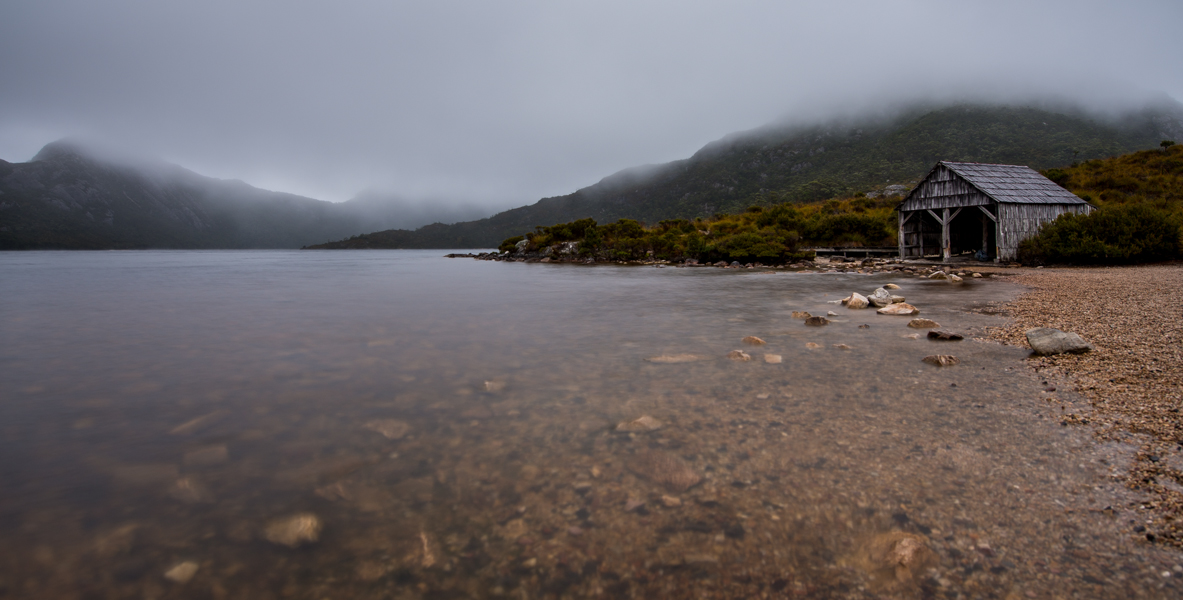 Misty Foggy Cradle Mountain