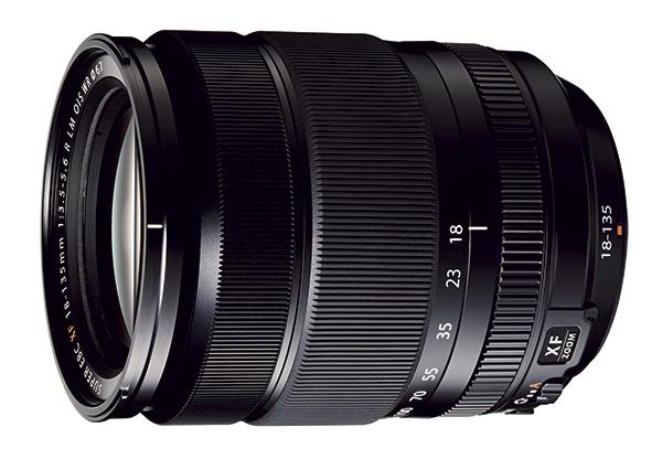 Fuji 18-135mm F3.5 F5.6 R LM OIS WR lens