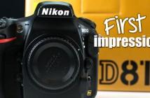 Nikon D810 First Impressions