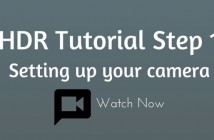 HDR Plus Tutorial Step 1