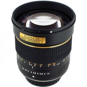 Samyang Rokinon 1.4f 85mm
