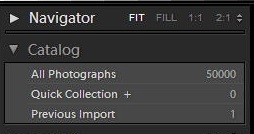 catalog lightroom
