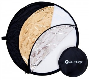 3 in 1 reflector for macro photography