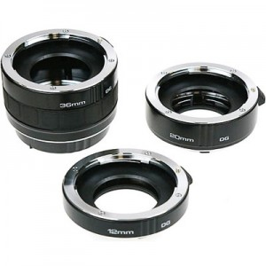 Extension Tubes for Macro