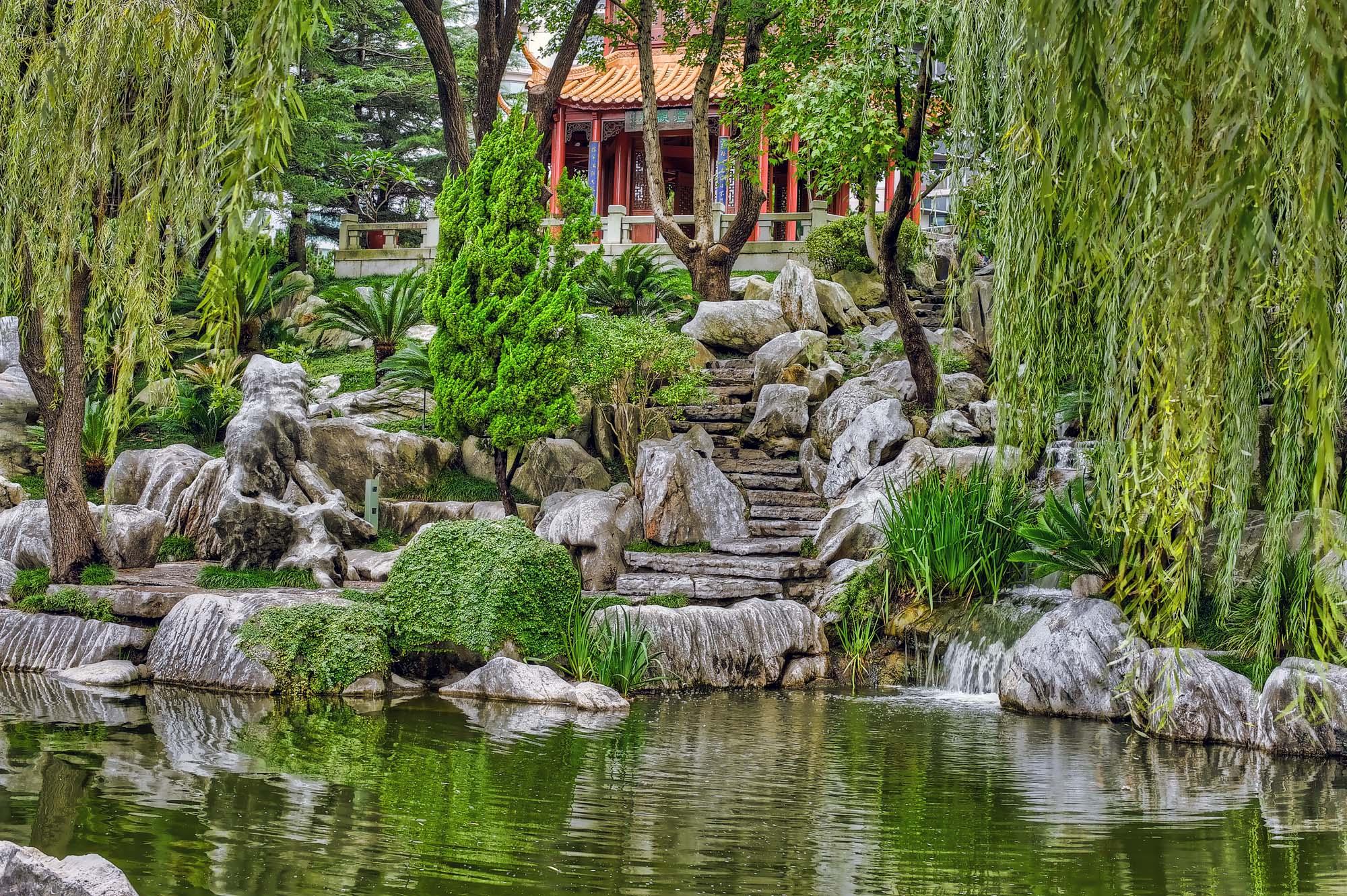 Chinese Gardens x