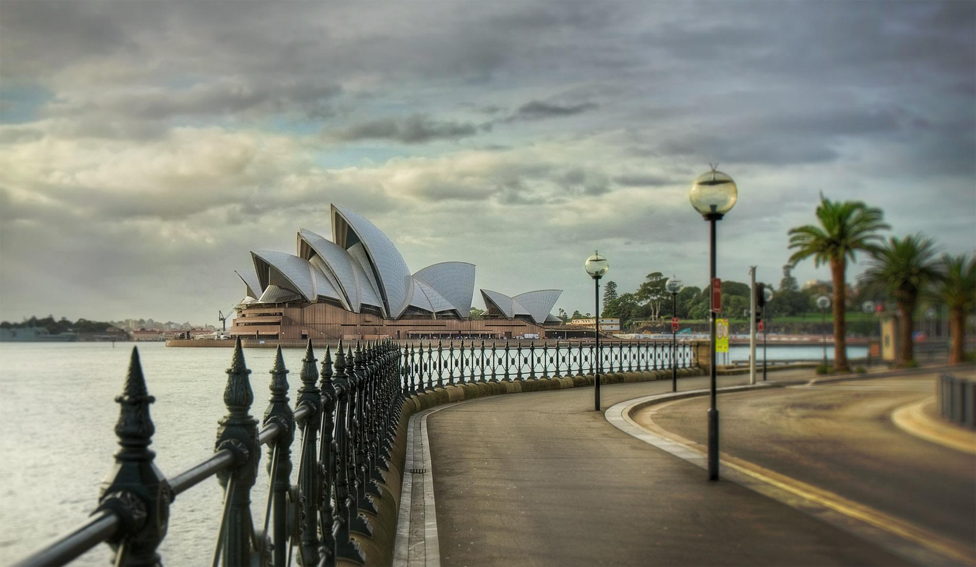 The Opera House - Sydney Australia