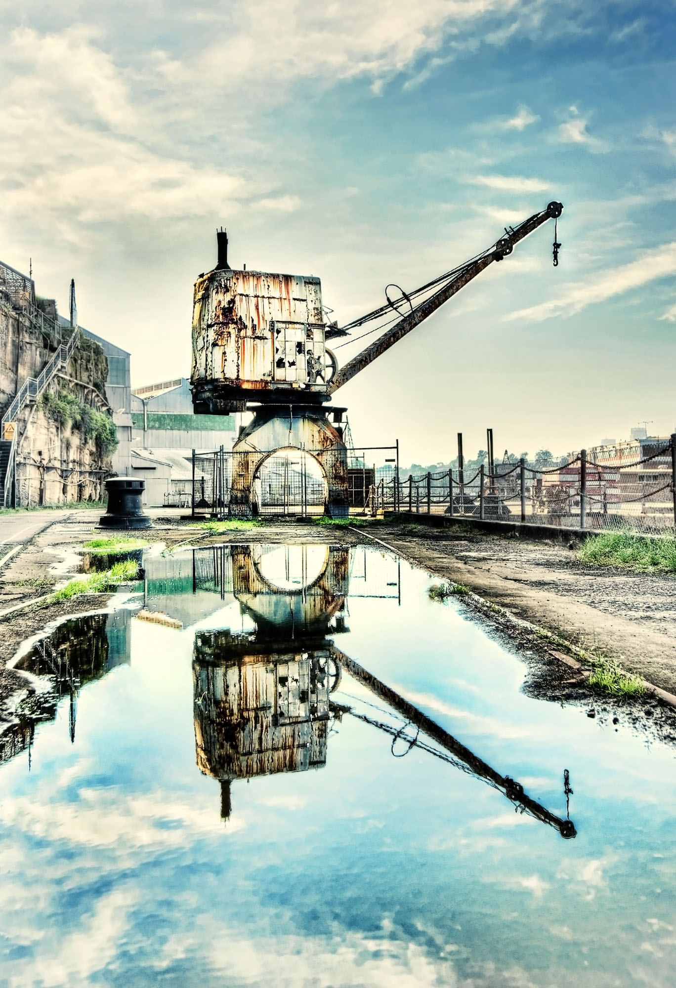 reflecting crane v3