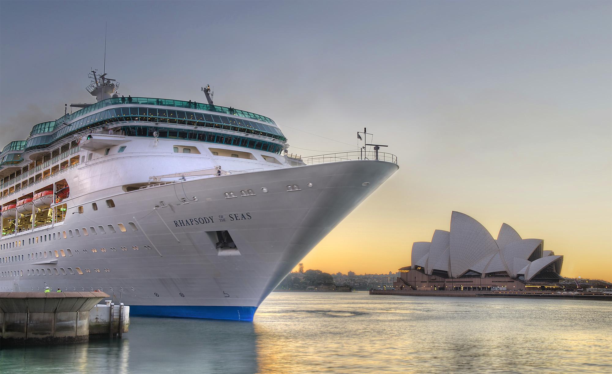 Rhapsody of the Seas Sydney Opera House