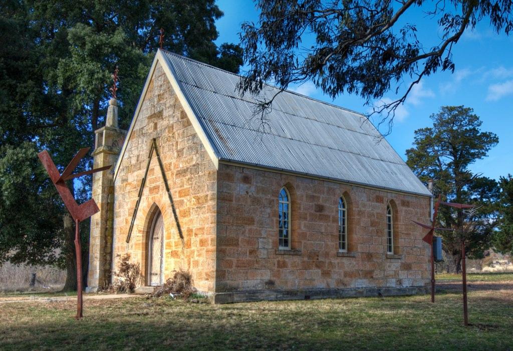 Countryside Australia Church
