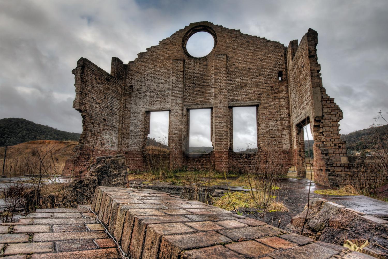Lithgow Blast Ruins