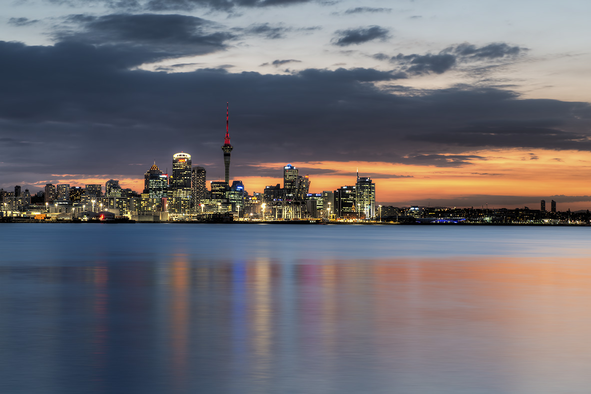 Auckland Afterglow