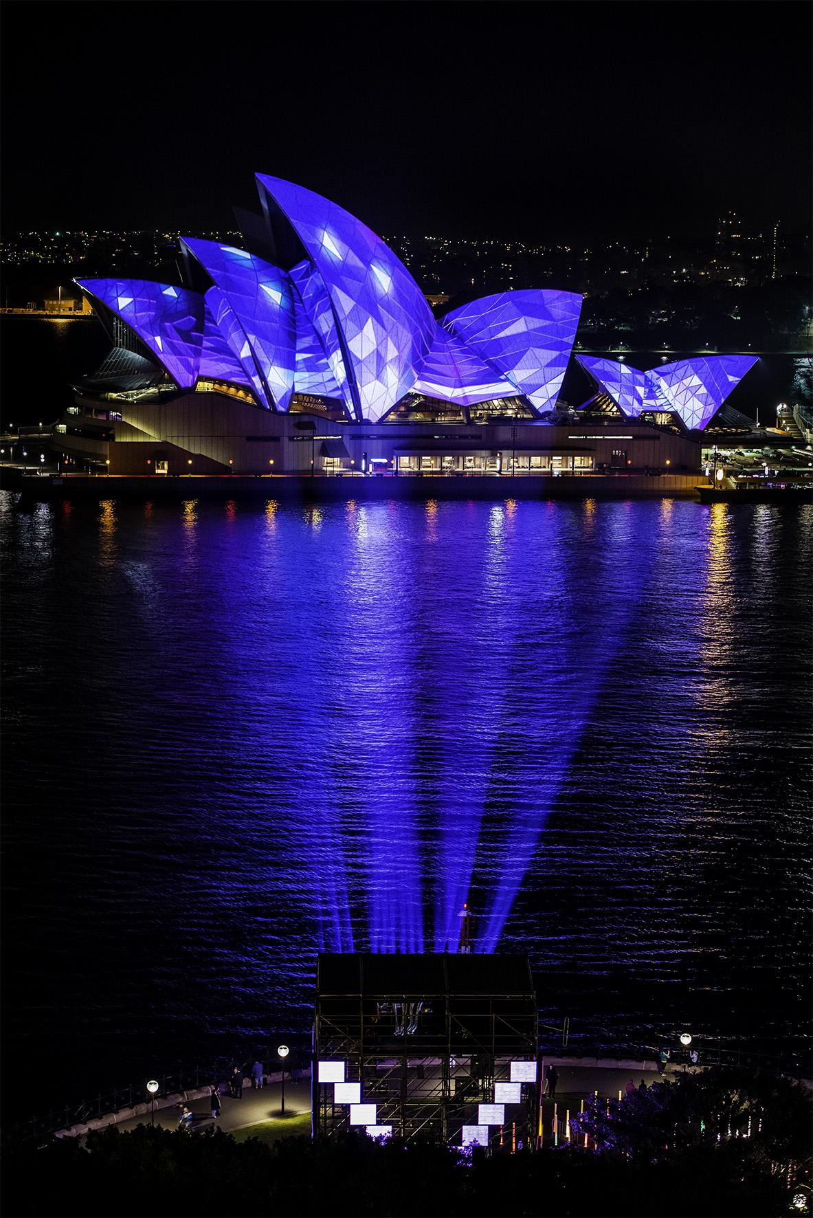 Vivid Sydney Blues