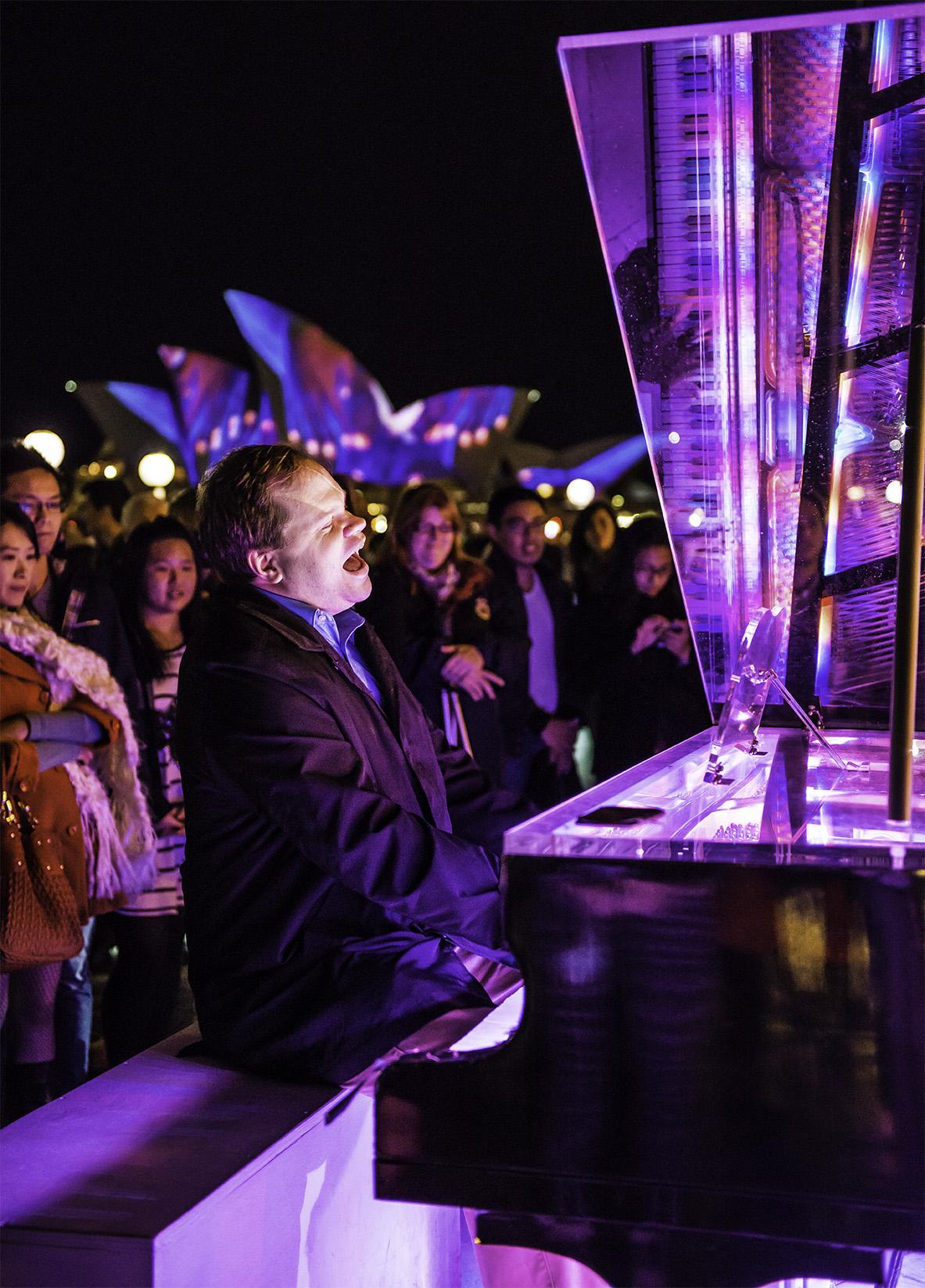 Vivid Sydney Piano