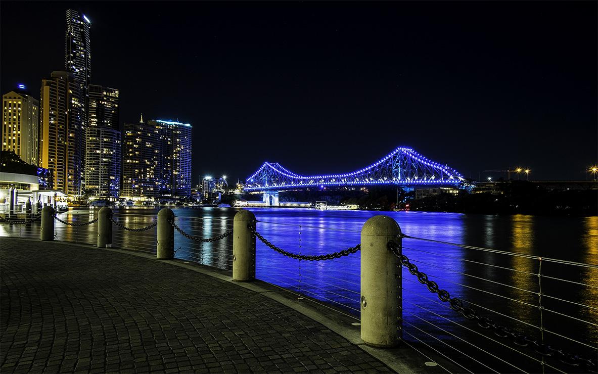 Story Bridge Lights Brisbane