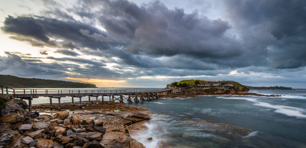 Photography at Bare Island La Perouse