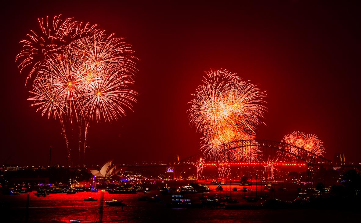 New Years Eve Fireworks Sydney 2013