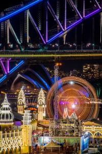 Luna Park Vivid Sydney