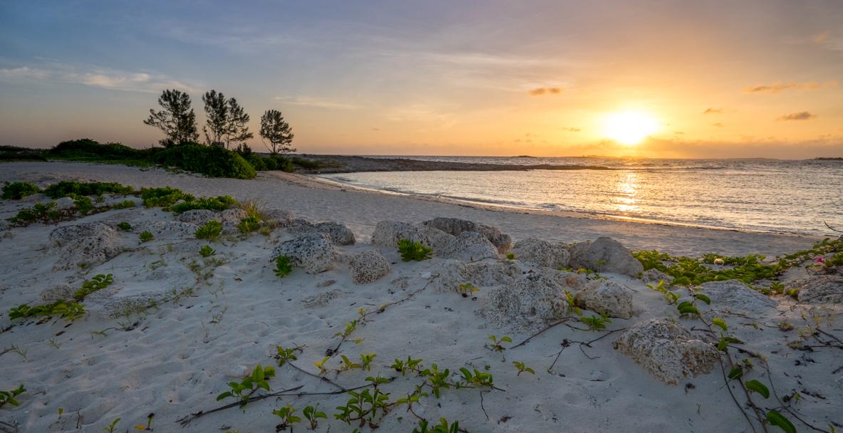 Bahamas Sunrise with the Fuji X-T1