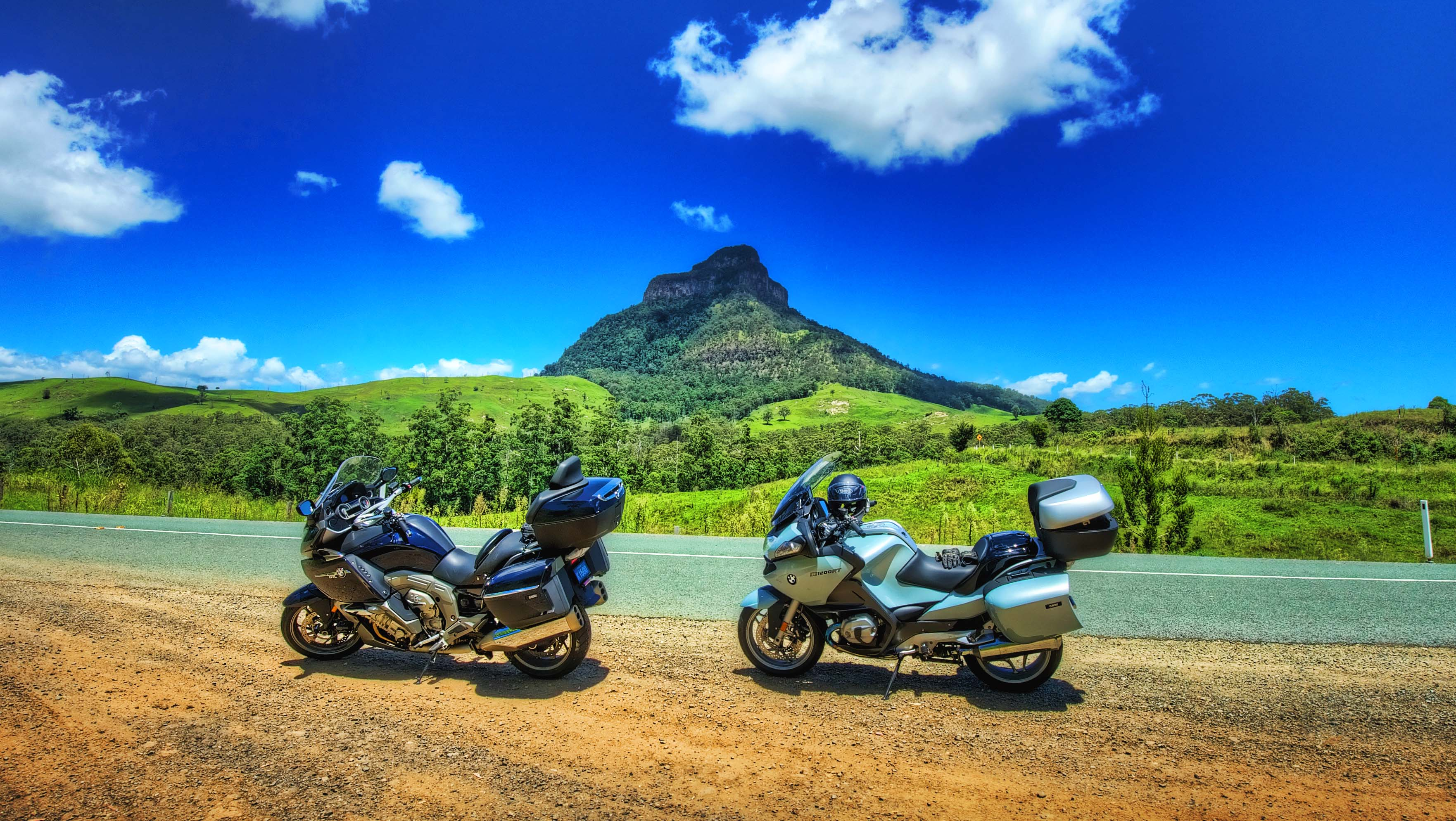 Countryside Photography_2 bikes and a mountain