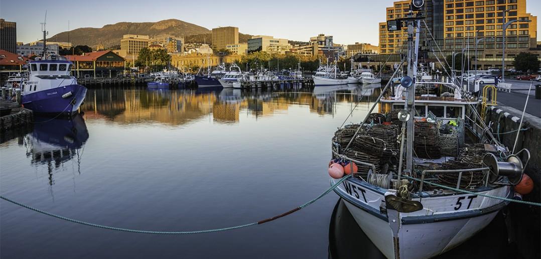 Sunrise in Hobart
