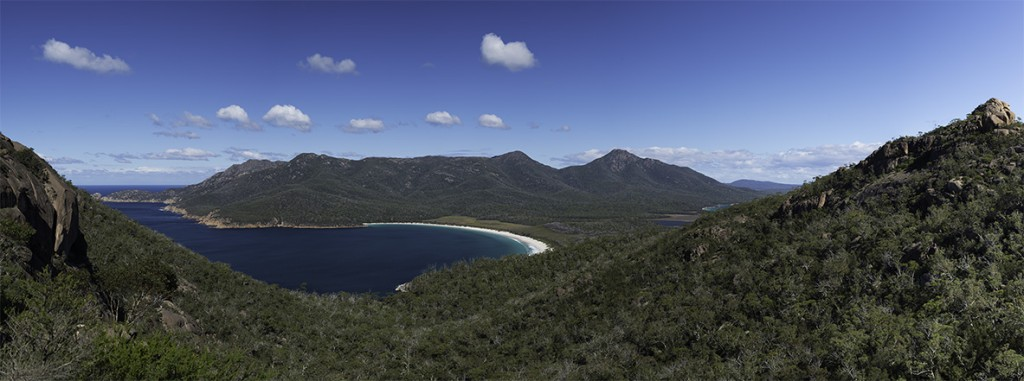 Wine Glass Bay Panoramic