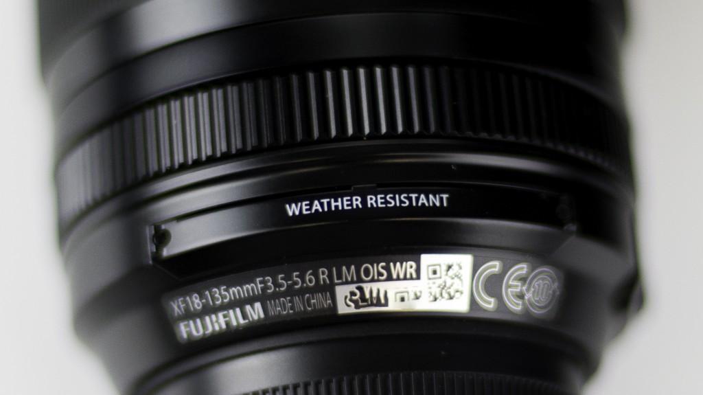 Fuji 18-135mm f/3.5 - f/5.6 LM OIS WR lens