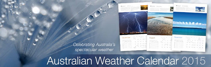 2015 Australian Weather Calendar