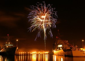 how to photograph fireworks, tips for photographing fireworks, capturing fireworks with a DSLR camera