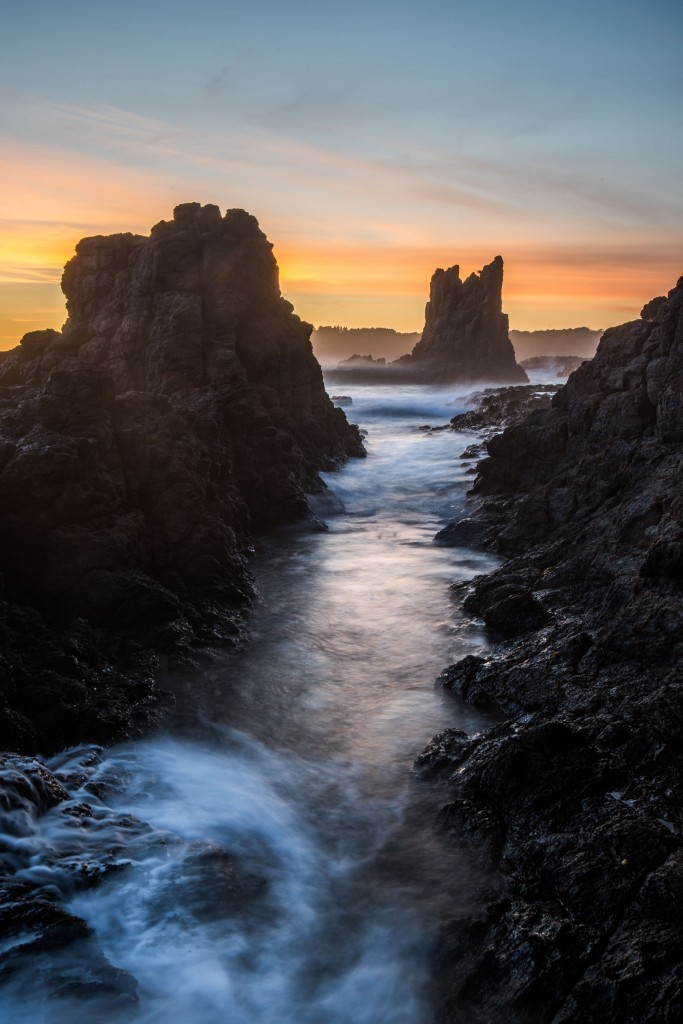 Cathedral Rocks at Sunrise