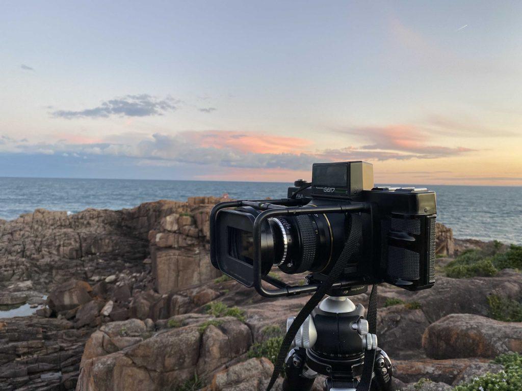 Fujifilm G617 Panoramic Film Camera